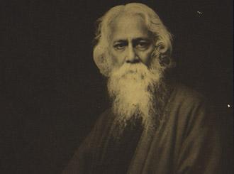 Exposición Tagore para la Fundación la Casa y el Mundo