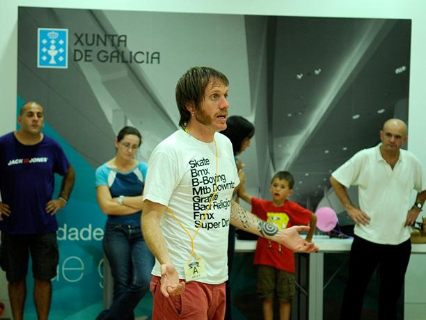 Talleres de Ramiro Tersse para la Fundación la Casa y el Mundo