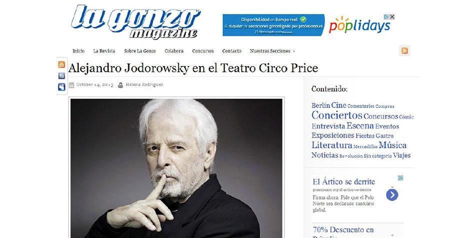 alejandro jodorwowsky y su cabaret místico