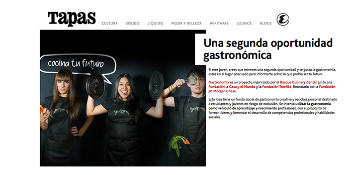 Gastronomix en la revista Tapas