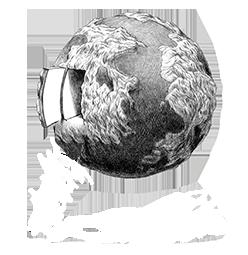 logo de la casa y el mundo