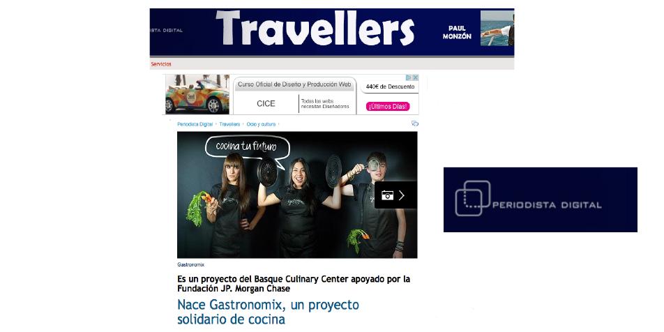 Gastronomix en travellers