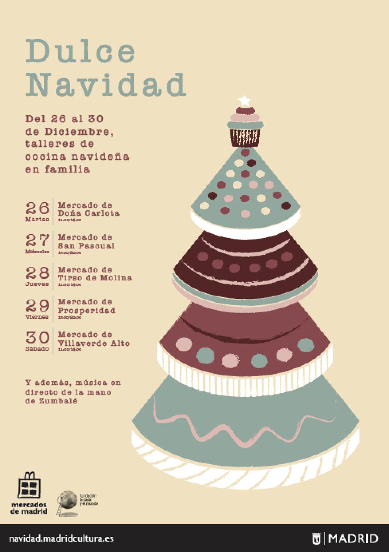 dulce navidad ayuntamiento de madrid